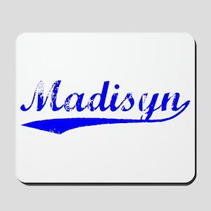 Vintage Madisyn (Blue) Mousepad