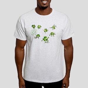 Dancing Shamrocks Light T-Shirt