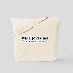 Nina loves me Tote Bag