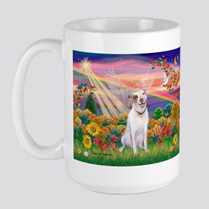 Autumn Angel / Pit Bull Large Mug
