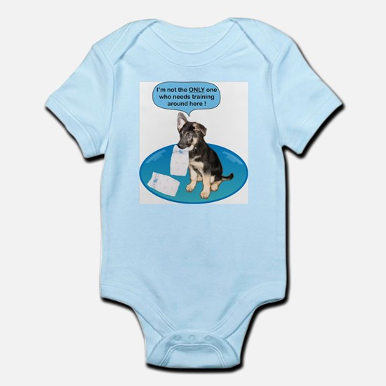Not The Only One-B Infant Bodysuit