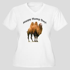 Happy Hump Day! Women's Plus Size V-Neck T-Shirt