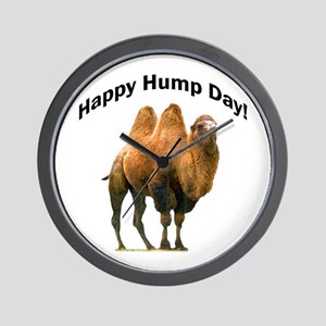 Happy Hump Day! Wall Clock