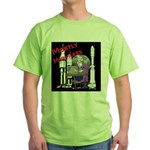 Mostly Harmless Nerd Green T-Shirt