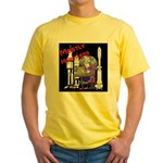 Mostly Harmless Nerd Yellow T-Shirt