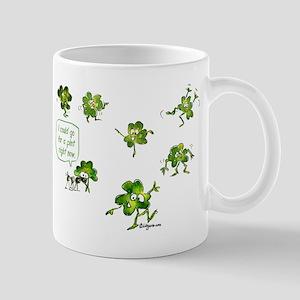 Dancing Shamrocks Mug