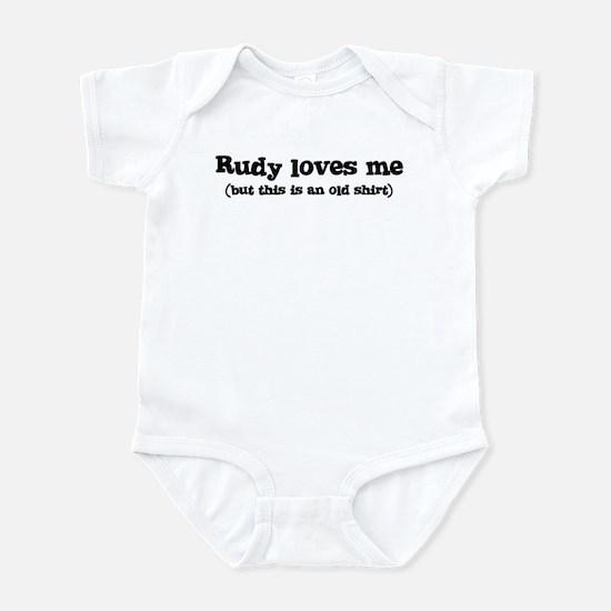 Rudy loves me Infant Bodysuit