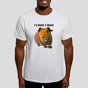 i iz learn 2 shave Light T-Shirt