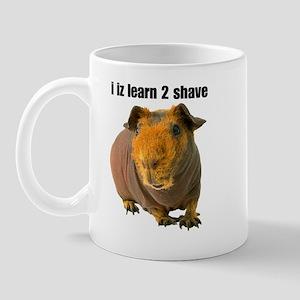 i iz learn 2 shave Mug