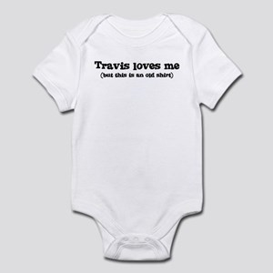Travis loves me Infant Bodysuit