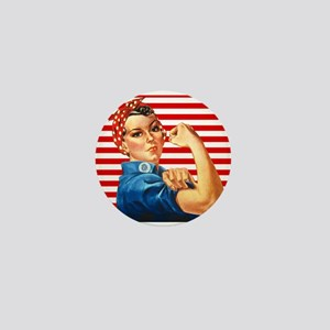 Rosie the Riveter Mini Button