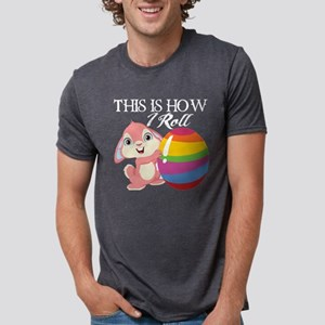 This Is How I Roll Easter Egg Bunny T-Shirt