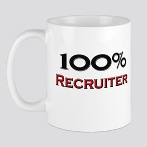 100 Percent Recruiter Mug