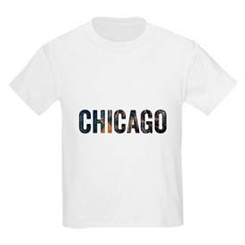 Chicago Skyline Unisex T-Shirt For Chicago T-Shirt