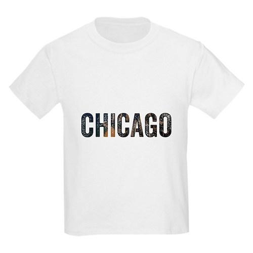 Chicago Skyline Unisex T-Shirt For Chicago T-Shirt