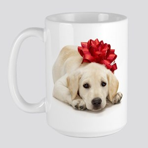 Yellow Lab Puppy Large Mug