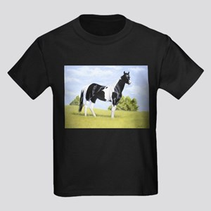 Painted Warrier Kids Dark T-Shirt