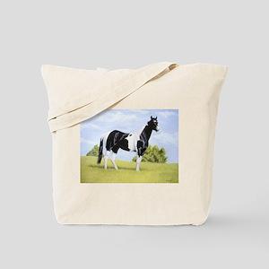 Painted Warrier Tote Bag