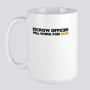 Escrow Officer Large Mug