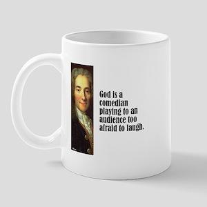 "Voltaire ""Comedian"" Mug"