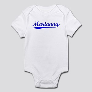 Vintage Marianna (Blue) Infant Bodysuit