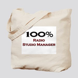 100 Percent Radio Studio Manager Tote Bag