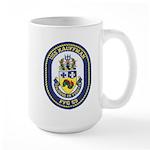USS KAUFFMAN Large Mug