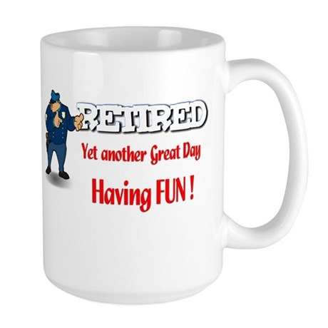 Cops are Tops. Large Mug