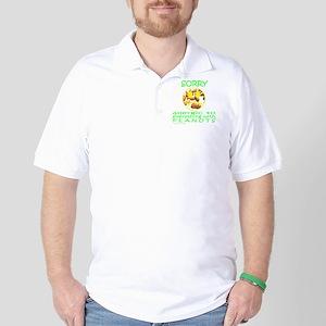 ALLERGIC TO PEANUTS Golf Shirt