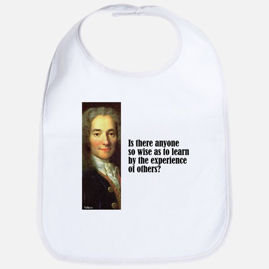 "Voltaire ""So Wise"" Bib"