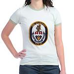 USS KLAKRING Jr. Ringer T-Shirt