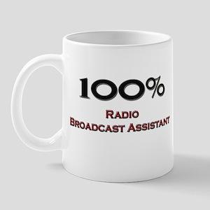100 Percent Radio Broadcast Assistant Mug