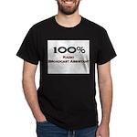 100 Percent Radio Broadcast Assistant Dark T-Shirt