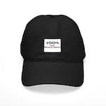 100 Percent Radio Broadcast Assistant Black Cap