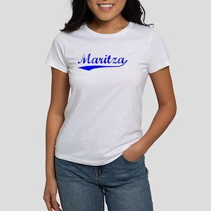 Vintage Maritza (Blue) Women's T-Shirt