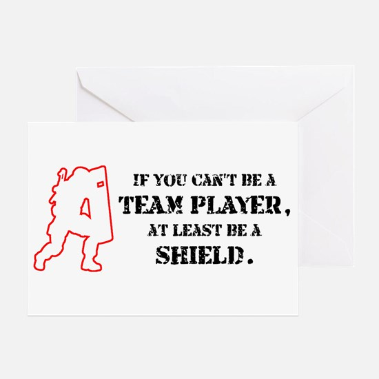 Team Player Greeting Card