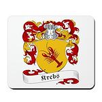 Krebs Family Crest Mousepad