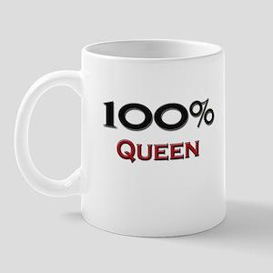 100 Percent Queen Mug