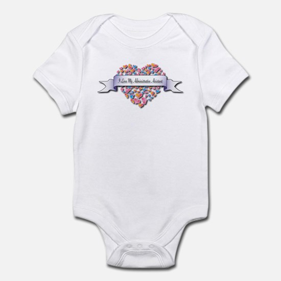 Love My Administrative Assistant Infant Bodysuit