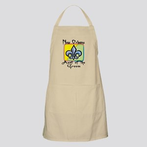 New Orleans Aunt of the Groom BBQ Apron