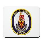 USS McCLUSKY Mousepad