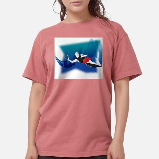 Slalom Waterskier Women's Light T-Shirt