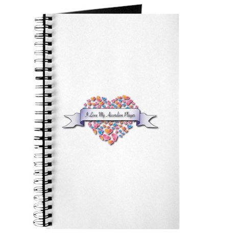 Love My Accordion Player Journal