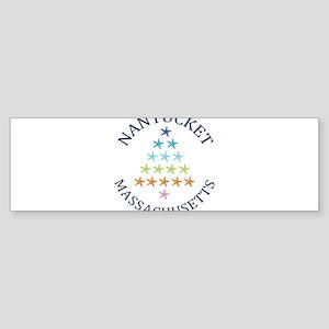 Summer nantucket- massachusetts Bumper Sticker