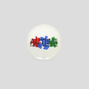 Autism - Proud Grandpa Mini Button