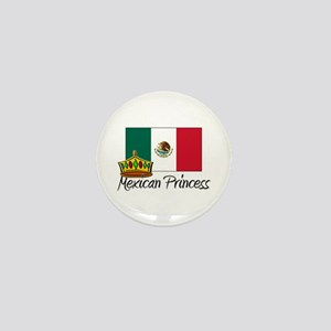 Mexican Princess Mini Button