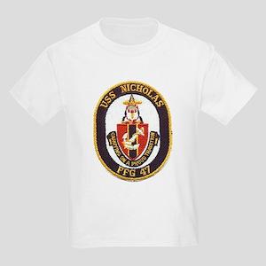 USS NICHOLAS Kids Light T-Shirt