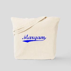 Vintage Maryam (Blue) Tote Bag