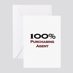 100 Percent Purchasing Agent Greeting Cards (Pk of