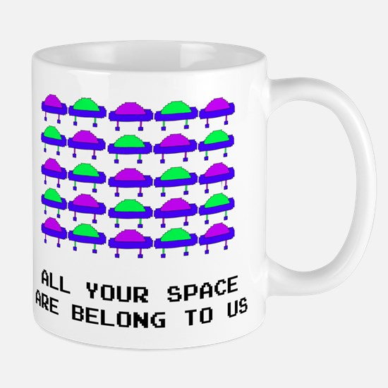 All Your Space Aliens Mug
